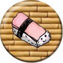 Kawaii Tamago Pinback Button Badge