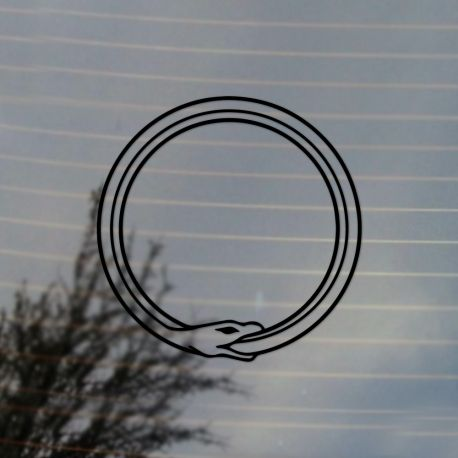 Ouroboros Vinyl Decal Sticker (For car, laptop, tablets etc)