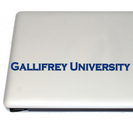 Gallifrey University Vinyl Decal Sticker(FREE US Shipping) (For car, laptop, tablets etc)