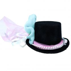 Mermaid Beauty Mini Top Hat (Mermaid Themed Decorative Hat)