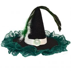 Wizarding Snake Mini Witch House Hat