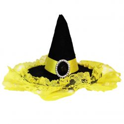 Wizarding Badger Mini Witch House Hat